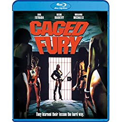 Caged Fury [Blu-ray]