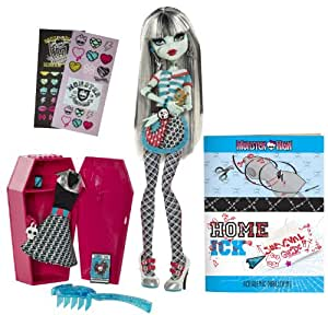 Monster High Classroom Playset And Frankie Stein Doll