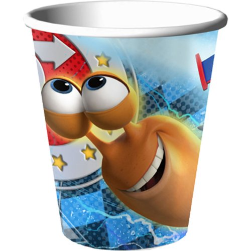 Turbo 9 oz. Paper Cups (8)