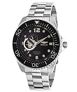 Invicta Men's 15387 Pro Diver Analog Display Japanese Automatic Silver Watch