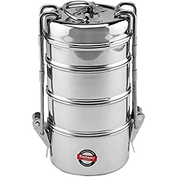 Buy hot carrier 6x4 tiffin box online at low prices in for Consul container
