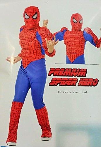 COSTUME SPIDERMAN HERO TG. XS ANNI 3/4