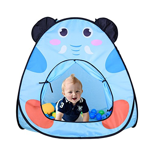 NutureFun Lightweight Pop-up Indoor Outdoor Kids Play Tent House Children`s Playhouse Only 0.5kg
