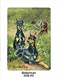 Doberman Dog Playing Cards Designed by Ruth Maystead (DOB-PC) by Ruth Maystead