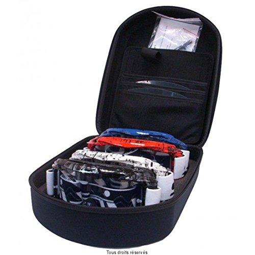 equipr - S-LINE - GOGGLE CASE + 4 Masques PRO MX Valise de transport + 4masques