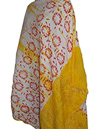 Attire 100 % Cottan Dott And Tye - Dye Printed Work Trendy Stoles, Scarf And Dupatta