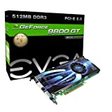 EVGA 512-P3-N976-AR e-GeForce 9800 GT Superclocked 512MB DDR3 PCI-E 2.0 Graphics Card