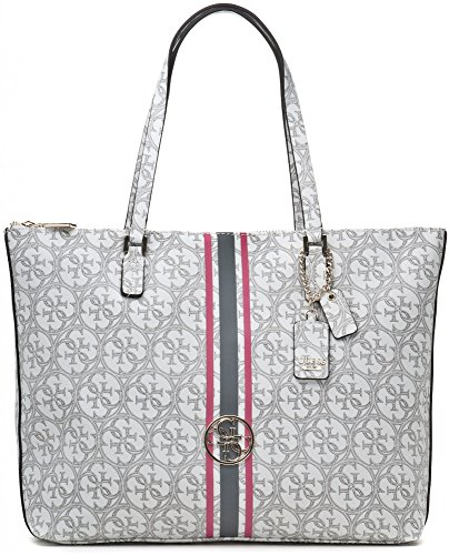 GUESS HERITAGE SPORT TOTE SG456724 WHITE