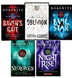 Anthony Horowitz Power of Five Books Collection 5 Books Set by Anthony Horowitz Author of Alex Rider (Raven's Gate, Evil Star, Night Rise, Necropolis, Oblivion)