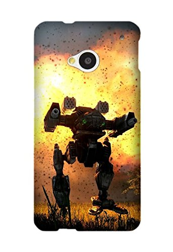 Exquisite Designs Game MechWarrior Case Cover for HTC One M7