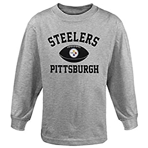 Pittsburgh Steelers Youth Standard Issue Long Sleeve T-Shirt by Genuine Stuff/Outerstuff