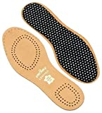 Pedag 1101 Naturally Tanned Leather Insole for Children with Activated Charcoal,US Little Kid 12-13.5/ EU 30/31