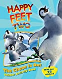 img - for The Chase Is On!: Sticker Activity Book (Happy Feet 2) book / textbook / text book