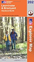 Leominster and Bromyard (Explorer Maps) (OS Explorer Map)