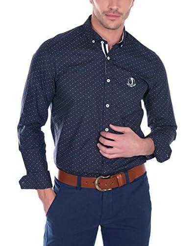 SIR RAYMOND TAILOR Camisa Hombre Bite Azul Marino