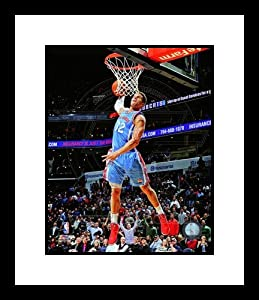 Blake Griffin Los Angeles Clippers NBA Framed 8x10 Photograph Dunking vs Charlotte