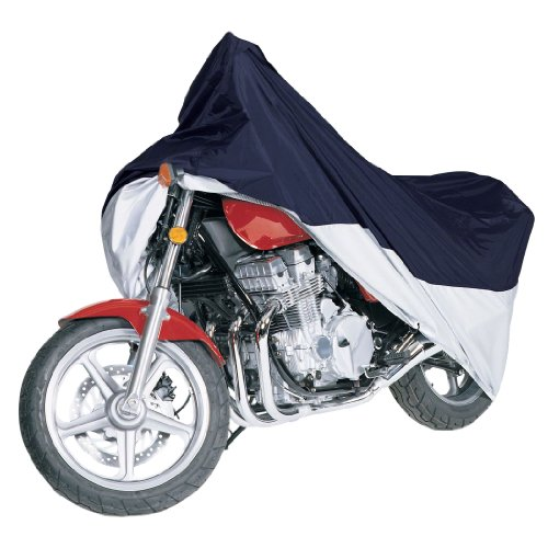 Classic Accessories 65-005-033501-00 MotoGear Extreme Blue and Silver Motorcycle Cover Sport, fits motorcycles up to 1100cc