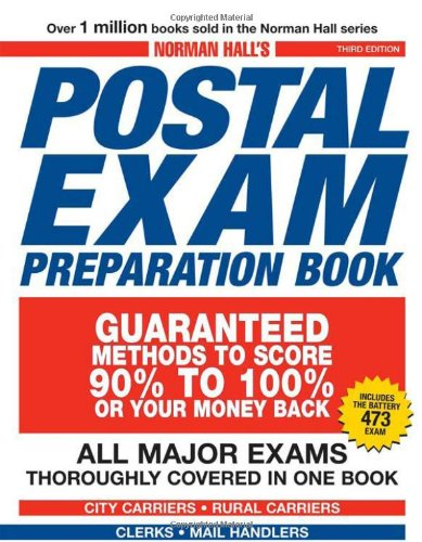 Norman Hall'S Postal Exam Preparation Book: Everything You Need To Know... All Major Exams Thoroughly Covered In One Book front-864408