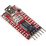 Qunqi 3.3V 5.5V FT232RL FTDI Usb To TTL Serial Adapter Module For Arduino Mini Port