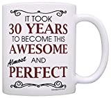 30th Birthday Gifts For All Took 30 Years Awesome Funny Party Gift Coffee Mug Tea Cup White