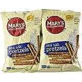 Mary's Gone Crackers Sea Salt Pretzels 7.5oz. (Pack of 4)