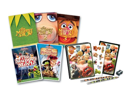 Muppet Five-Pack With Tin (Muppet Treasure Island / The Muppet Movie / The Muppet Show: Season 1 / The Muppet Show: Season 2 / The Muppet Show: Season 3) (Amazon.com Exclusive) (The Muppet Show Season 1 compare prices)