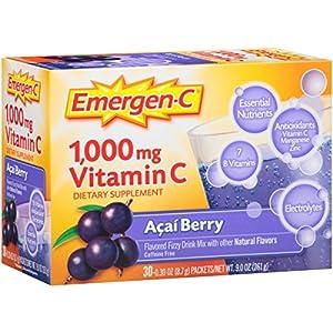 Emergen-C, Acai Berry 0.3 oz - 30 Count