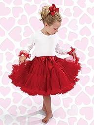 Bearington Pretty Red Petticoat Child (Small)