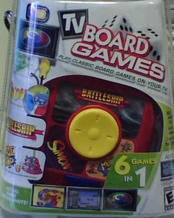 Tv Board Games 6 Games in 1 Simon, Battleship and More! - 1
