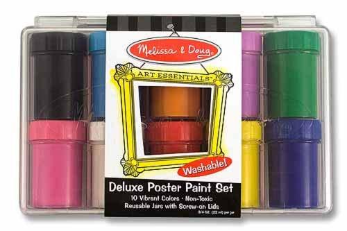 Melissa & Doug Deluxe Poster Paint Set - 1
