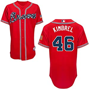 Craig Kimbrel Atlanta Braves Alternate Red Replica Jersey by Majestic by Majestic