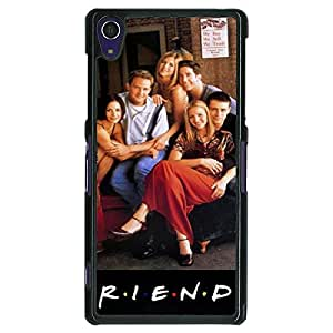Jugaaduu TV Series FRIENDS Back Cover Case For Sony Xperia Z1