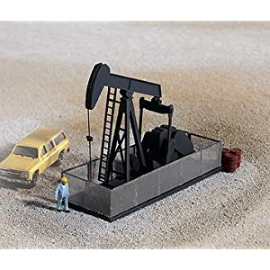 "Walthers N Scale Cornerstone Series&#174 Built-ups Operating Oil Pump 2-3/4 x 1 x 1-13/16"" 6.8 x 2.5 x 4.5cm at Sears.com"