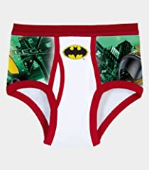 Fruit of the Loom Boys' 5pk Lego Batman Briefs