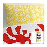 ANGSSPIRA/掛け布団カバー&枕カバー/ホワイト(サイズ150×200/50×60cm)[イケア]IKEA(90229994)