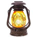 Lantern Clip Lamp w/ Horse Pattern
