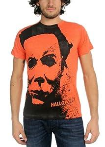 Halloween Splatter Mask Mens T-shirt from Impact