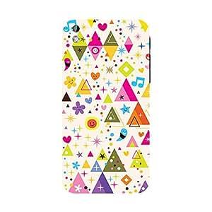 Garmor Designer Plastic Back Cover For HTC Desire 816