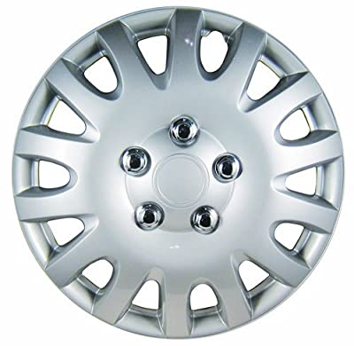 White Knight Honda Accord Silver/Lacquer Plastic Wheel Cover Set of 4