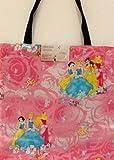 Rpwraps Licensed Disney Princess Fabric Reversible Pink Handmade Tote Bag