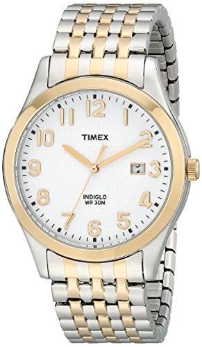 Timex Men's T2P2029J Elevated Classics Two-Tone Dress Watch