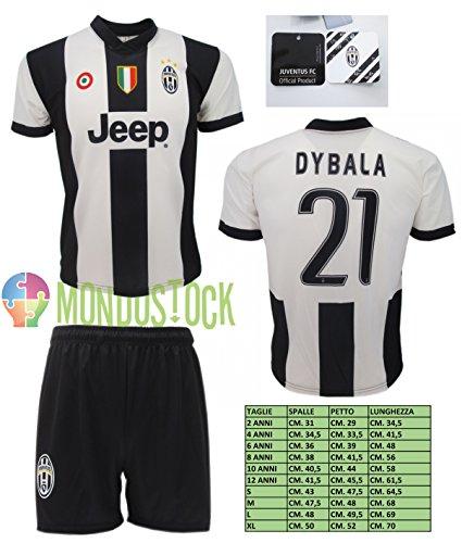 football-juventus-complet-paulo-dybala-21-replique-2016-2017-officiel-bianco-nero