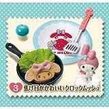 マイメロディ おもてなしキッチン [3.焦げ目がかわいいクロックムッシュ](単品)