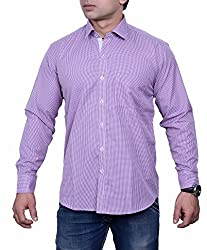 First Row Purple W-G Casual Shirt (38)