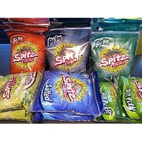 Spitz Sunflower Seeds 6oz-12ct Box 6-flavor 2-each Bbq