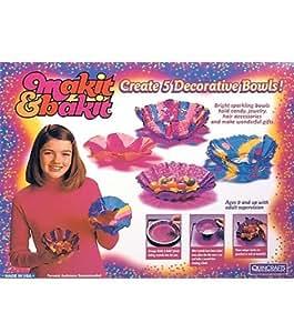 Makit & Bakit (Make It and Bake It) Decorative Bowls