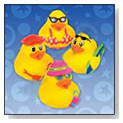 Swimming Pool Rubber Ducky Toys