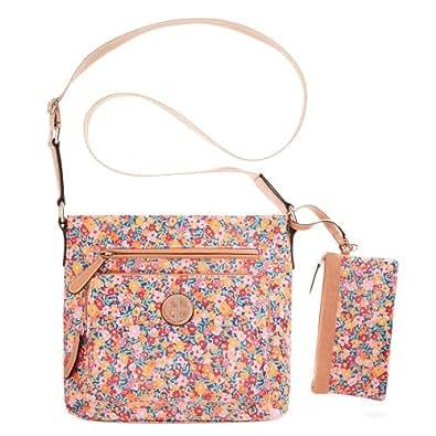 Giani Bernini Coated Canvas Crossbody - Floral Handbags Amazon.com