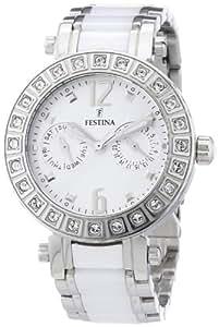 Festina Damen-Armbanduhr Trend Multifunktion  Analog Quarz Keramik F16587/1