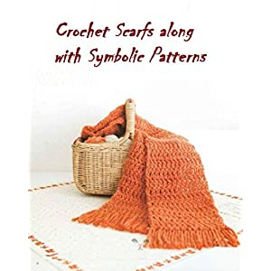 Crochet Scarf along with Symbolic patterns